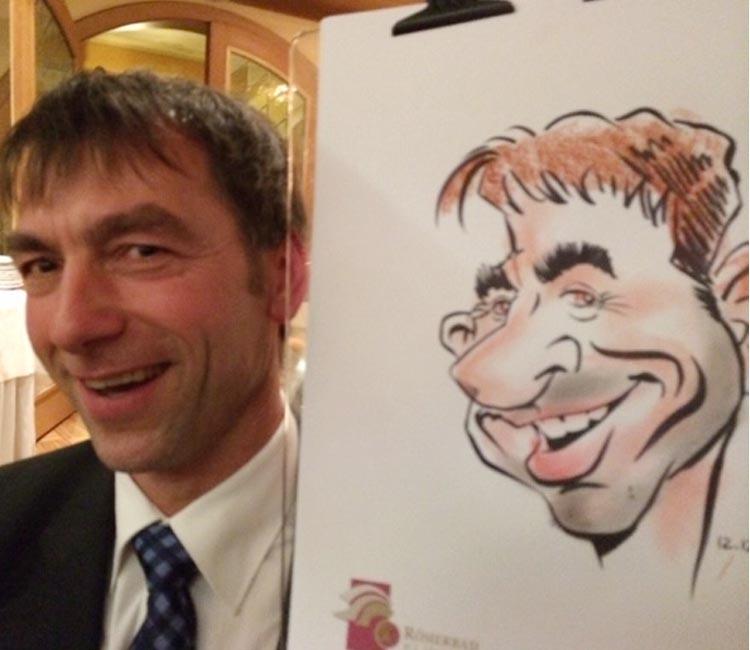 schnellzeichner Karikaturist Messe Zitzmann14
