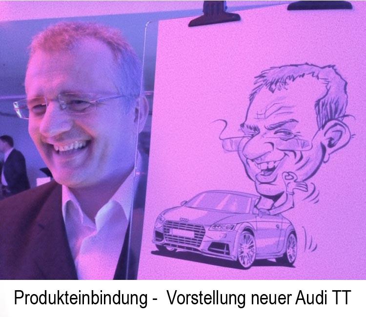 schnellzeichner Karikaturist Zitzmann Produkteinbindung1