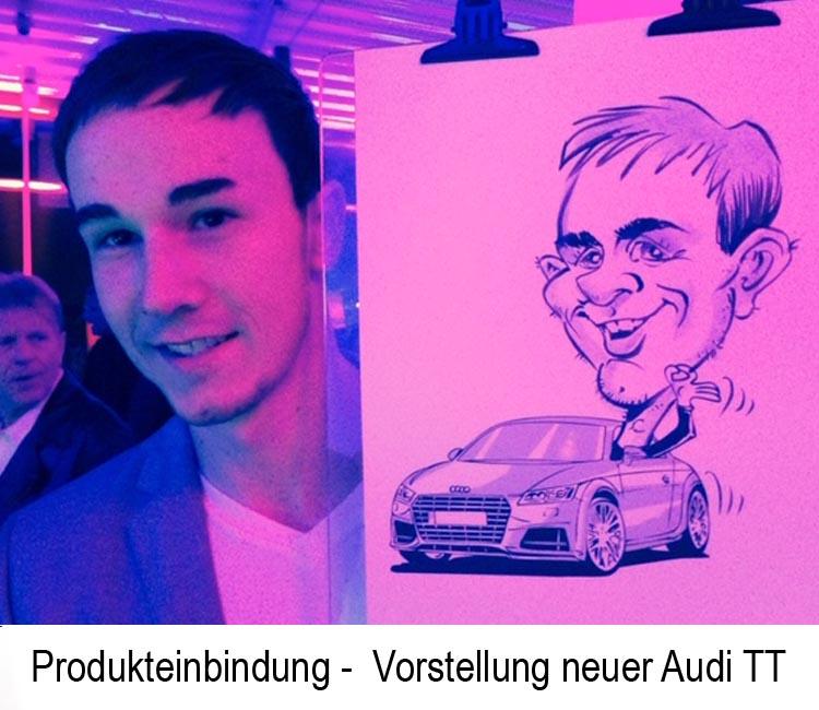 schnellzeichner Karikaturist Zitzmann Produkteinbindung2