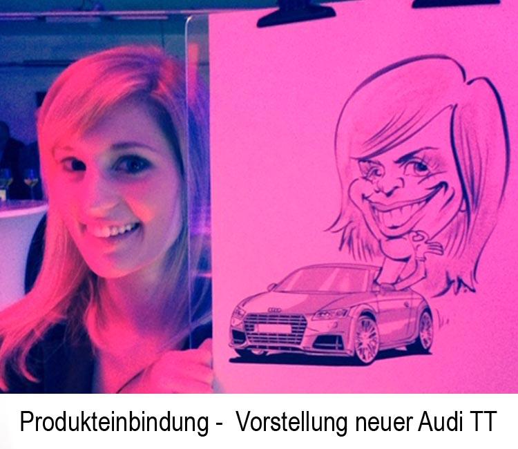 schnellzeichner Karikaturist Zitzmann Produkteinbindung3